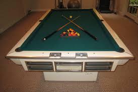 brunswick 7ft pool table value of 8 ft brunswick celebrity model hy