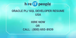 Sample Resume For Oracle Pl Sql Developer by Oracle Pl Sql Developer Resume Hire It People We Get It Done