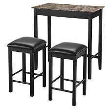 small pub table with stools small pub tables amazon com