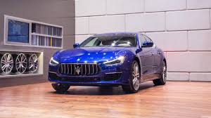 maserati chrome maserati ghibli granlusso lightly updated for chinese debut