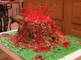 11 best alex volcano project images on pinterest volcano cake