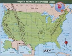 alaska inside us map us mountain ranges map united states physical resources mr inside