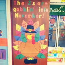 classroom door decorations for thanksgiving