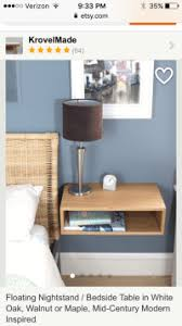 Floating Nightstand With Drawer Floating Nightstands With Box Miters Next Project