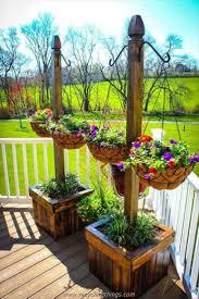 653 best flower hanging planters images on pinterest hanging