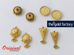 gold earrings tops 47 best beautiful gold earrings factory prices images on