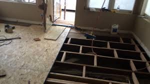 hardwood flooring leveling flooring installation