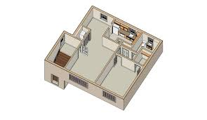 One Bedroom House Plan One Room House Plan Arts