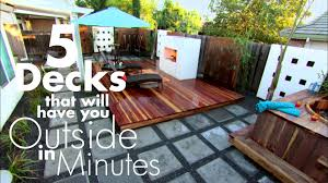 backyard decks pergolas and bars made for partying diy
