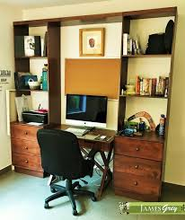 Couples Computer Desk Couples Condo Transforms Into A Chic Abode James Grey Interiors