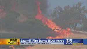California Wildfires Ventura County by Fast Moving Wildfire Scorches 1 500 Acres In U0027extremely Dry