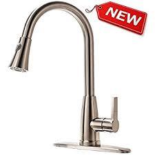 hotis utility single handle pull down sprayer stainless steel