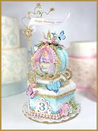 cinderella cake toppers cinderella birthday cake topper keepsake box image pinteres