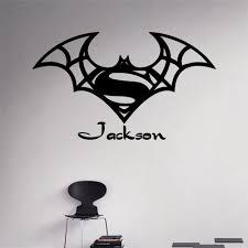 Batman Home Decor Online Get Cheap Batman Decal Name Aliexpress Com Alibaba Group