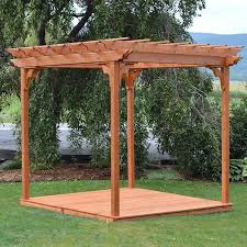 insider pergola swing bed stand garden landscape