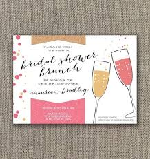 chagne brunch invitations appealing brunch bridal shower invitations as bridal shower