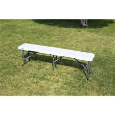 5 u0027 fold in half bench lifetime 80354 folding chairs camping