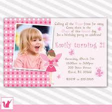 fairy birthday invitation fairy baby shower princess