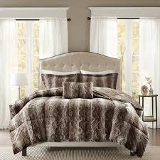 park marselle faux fur comforter set free shipping today