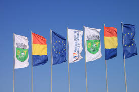 Flag Romania Free Images Beach Wind Advertising Country Summer Travel