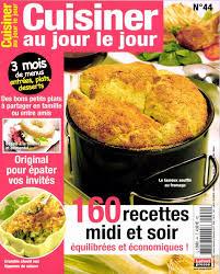 cuisiner le magazine magazine cuisiner au jour le jour en commande sur zepresse fr