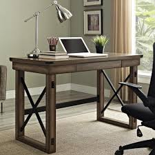 Rustic Desk Furniture Rustic Computer Desk In Desks And Hutches