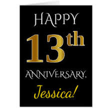 13th anniversary gift 13th anniversary gifts on zazzle nz