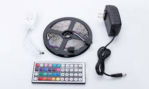 Auto Led Light Strips Multi Color Led Light Strip With Remote Control 16 Ft Groupon