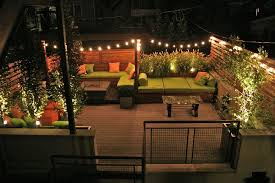 contemporary deck with built in outdoor bed by chicago specialty