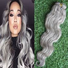 can ypu safely bodywave grey hair new 7a unprocessed peruvian virgin hair body wave silver gray hair