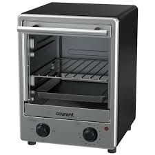 Under Cabinet 4 Slice Toaster by Courant 4 Slice Stainless Steel Toaster Oven To1235k The Home Depot