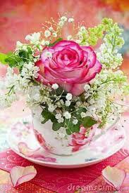 roses teacups bird cage shabby chic roses shabby