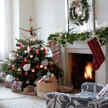Small Decorated Real Christmas Trees by Christmas Decorating The Relaxed Home