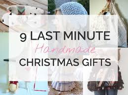9 last minute diy christmas gifts sew in love