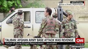 Flag Of The Taliban Afghan Base Attack More Than 140 Feared Dead In Taliban Raid Cnn