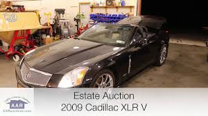 cadillac xlr hardtop convertible 2009 cadillac xlr v top convertible for sale