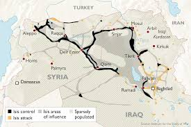 World Time Map The Decline Of Isis Control Across Iraq And Syria In Maps World