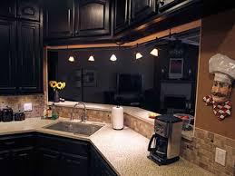 Painted Kitchen Cabinet Pictures Kitchen Black Kitchen Cabinets And 45 Diy Painted Black Kitchen