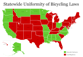 Orlando Traffic Map by U S Bicycle Laws By State I Am Traffic