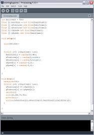 processing tutorial 4 arrays