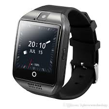 smartwatch android q18 plus android 4 4 smart phone 3g gps wifi fashion