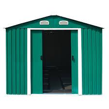 turquoise bentley charles bentley 12ft x 10ft metal garden shed charles bentley