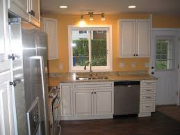 Orange Kitchen Cabinets by Kitchen Cabinet L Shaped No Island Italian Kitchen Cabinets