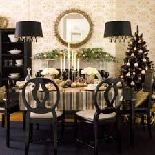 dining table in front of fireplace inspiring christmas fireplace mantel decoration look elegant black