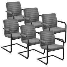 Esszimmerstuhl Freischwinger Holz En Casa Esstisch Eiche Dunkel Mit 6 Stühlen 180x100 Tisch Stühle