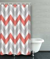 Coral And Grey Shower Curtain Breathtaking Peach And Gray Shower Curtain Contemporary Best