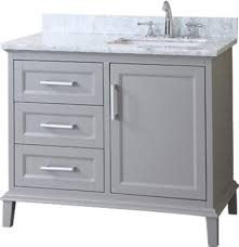 ariel sc nan 42 nantucket 42 single sink bathroom vanity set