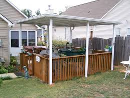 Average Cost Of Landscaping A Backyard The Average Price Of Aluminum Patio Covers U2014 Bitdigest Design