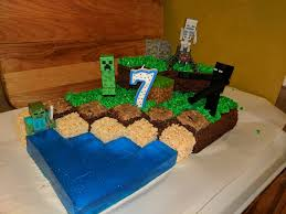 minecraft birthday cake ideas minecraft cake for my nephew s 7th birthday board enhanced