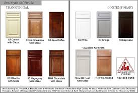 Glazed Kitchen Cabinet Doors Kitchen Bath Cabinet Door Styles Colors Finishes